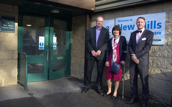New Mills Leisure Centre - Alison Salmen, Mark Rushworh and Stacy Wilde