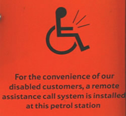 Petrol Station Remote Assistance